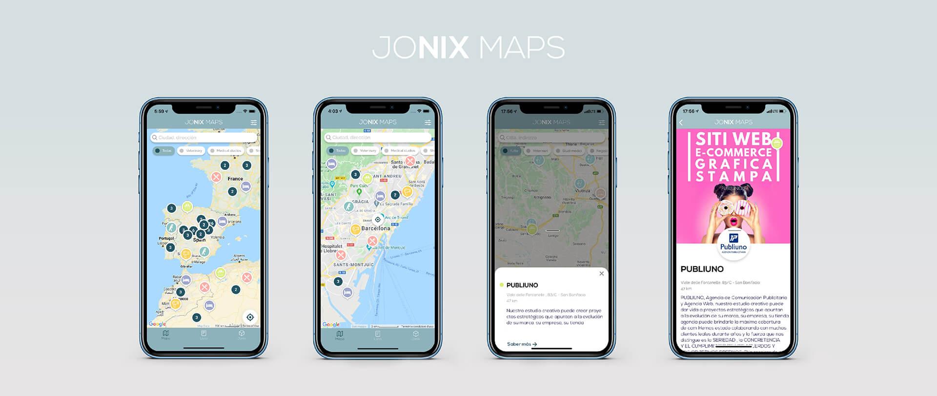 Jonix Maps Download