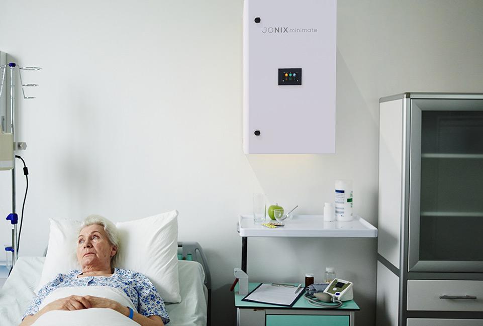 Jonix mini Mate depuratore aria settore ospedaliero