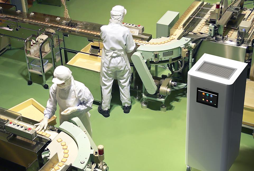 Depuratore aria Jonix Mate per settore alimentare